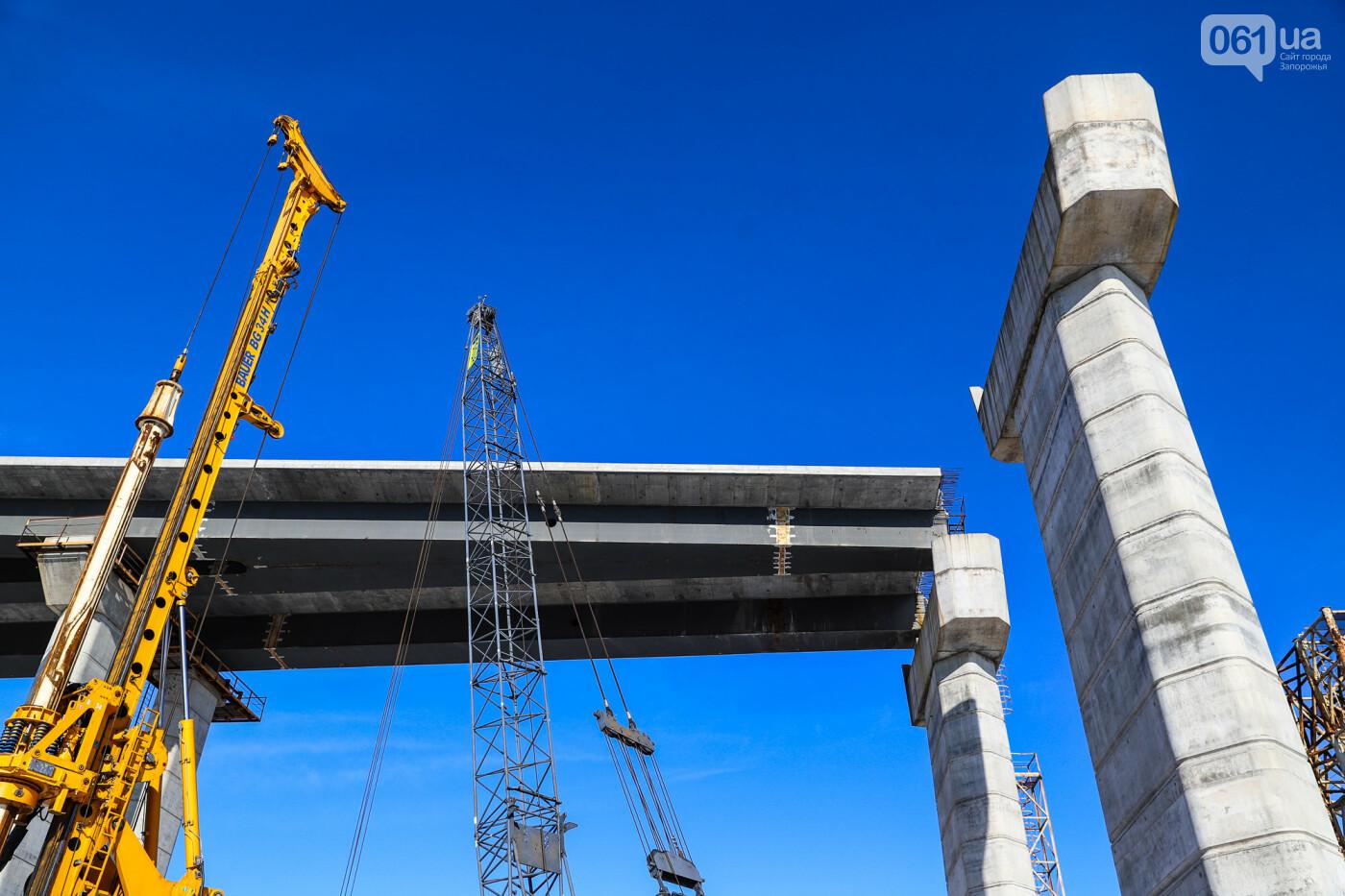 Кран с иностранной пропиской, ванты и металл: строительство запорожских мостов в фотографиях, фото-44