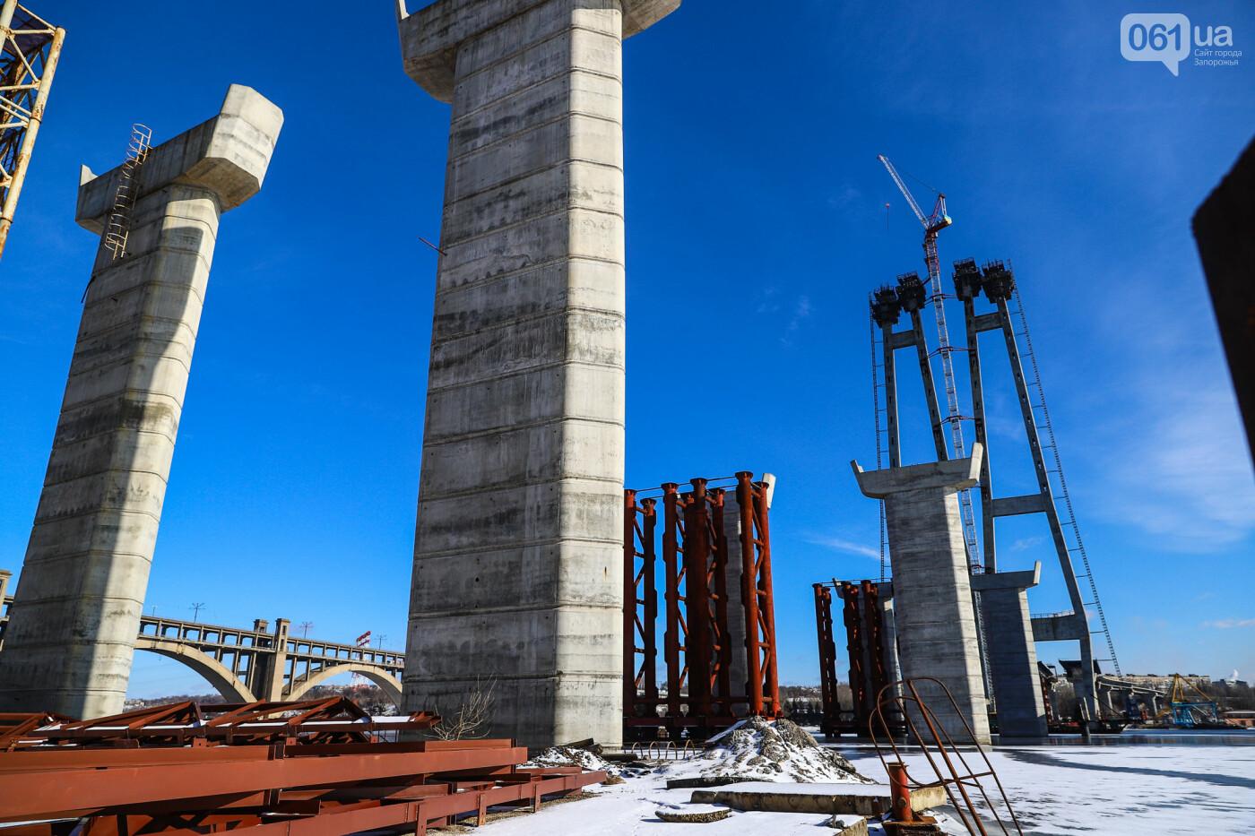 Кран с иностранной пропиской, ванты и металл: строительство запорожских мостов в фотографиях, фото-48