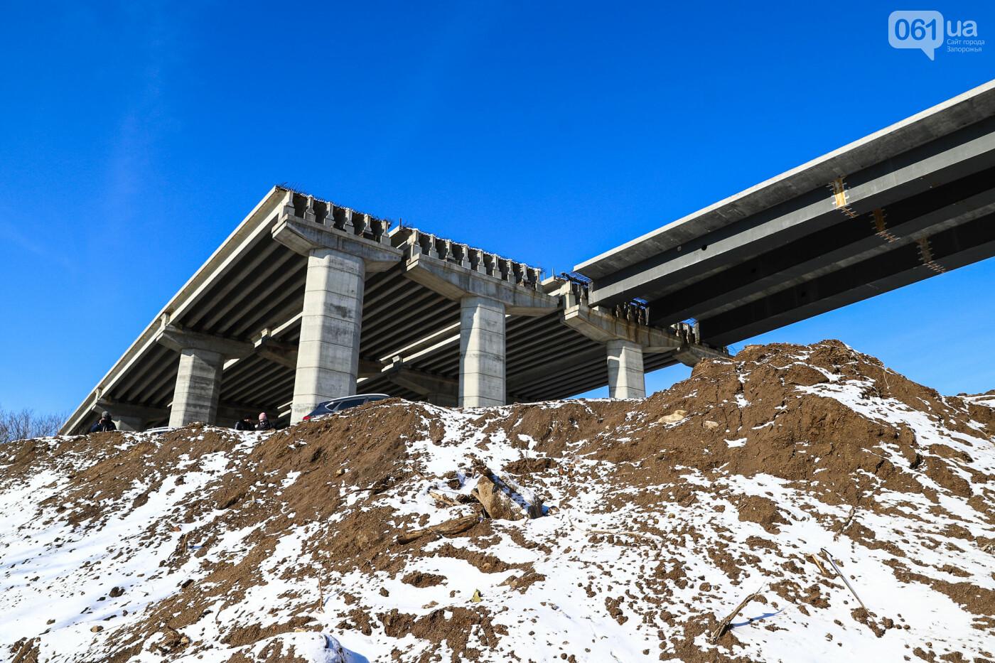 Кран с иностранной пропиской, ванты и металл: строительство запорожских мостов в фотографиях, фото-41