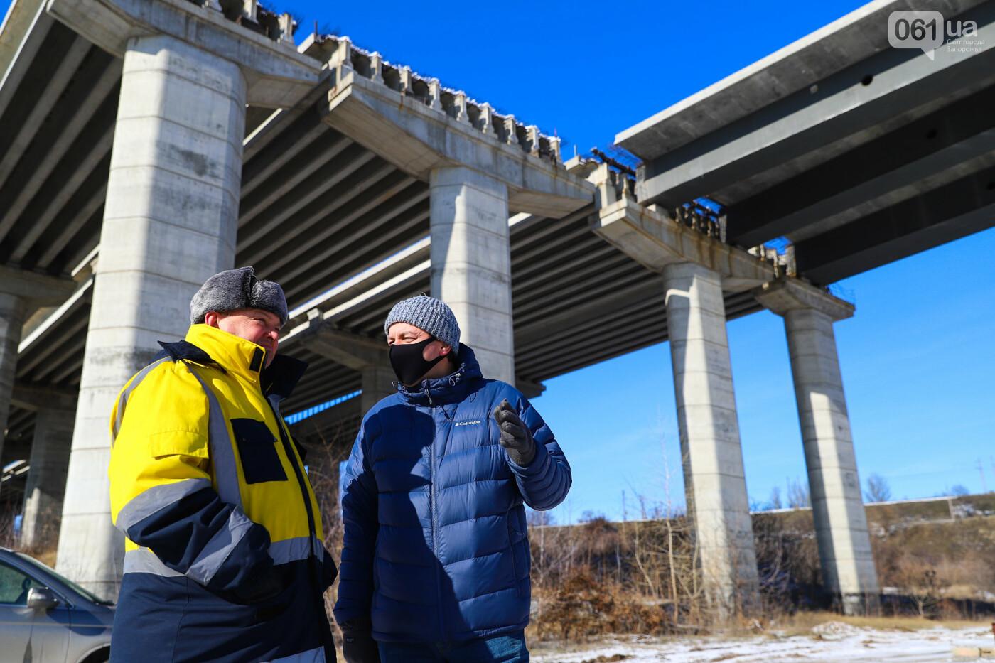 Кран с иностранной пропиской, ванты и металл: строительство запорожских мостов в фотографиях, фото-42