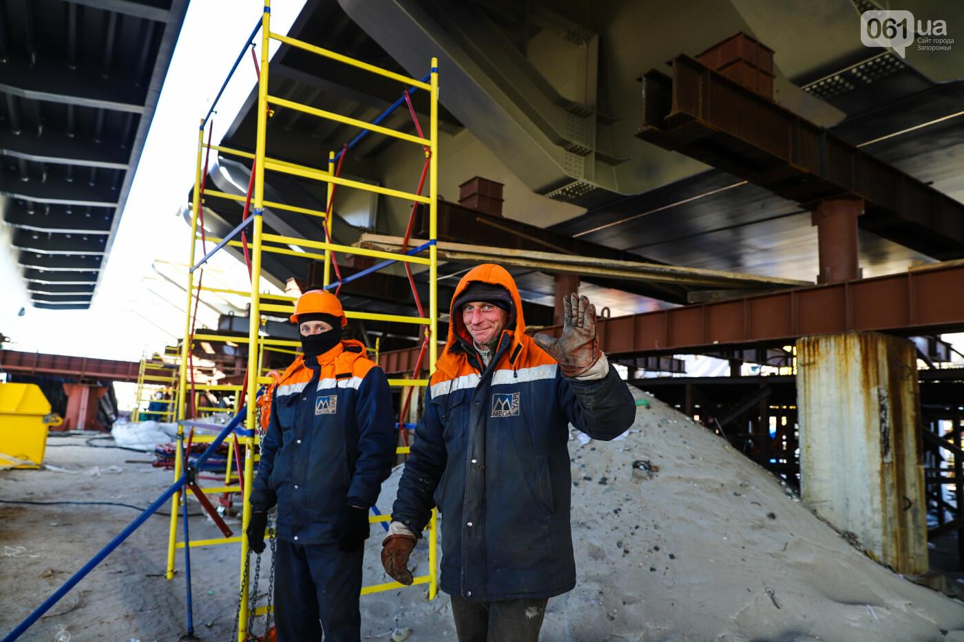 Кран с иностранной пропиской, ванты и металл: строительство запорожских мостов в фотографиях, фото-8