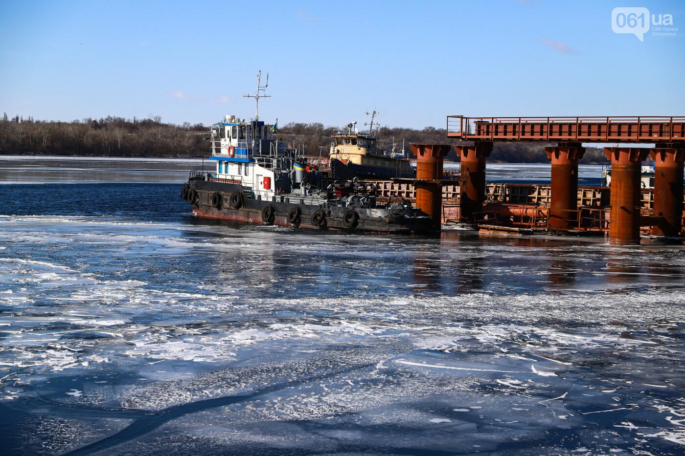 Кран с иностранной пропиской, ванты и металл: строительство запорожских мостов в фотографиях, фото-16