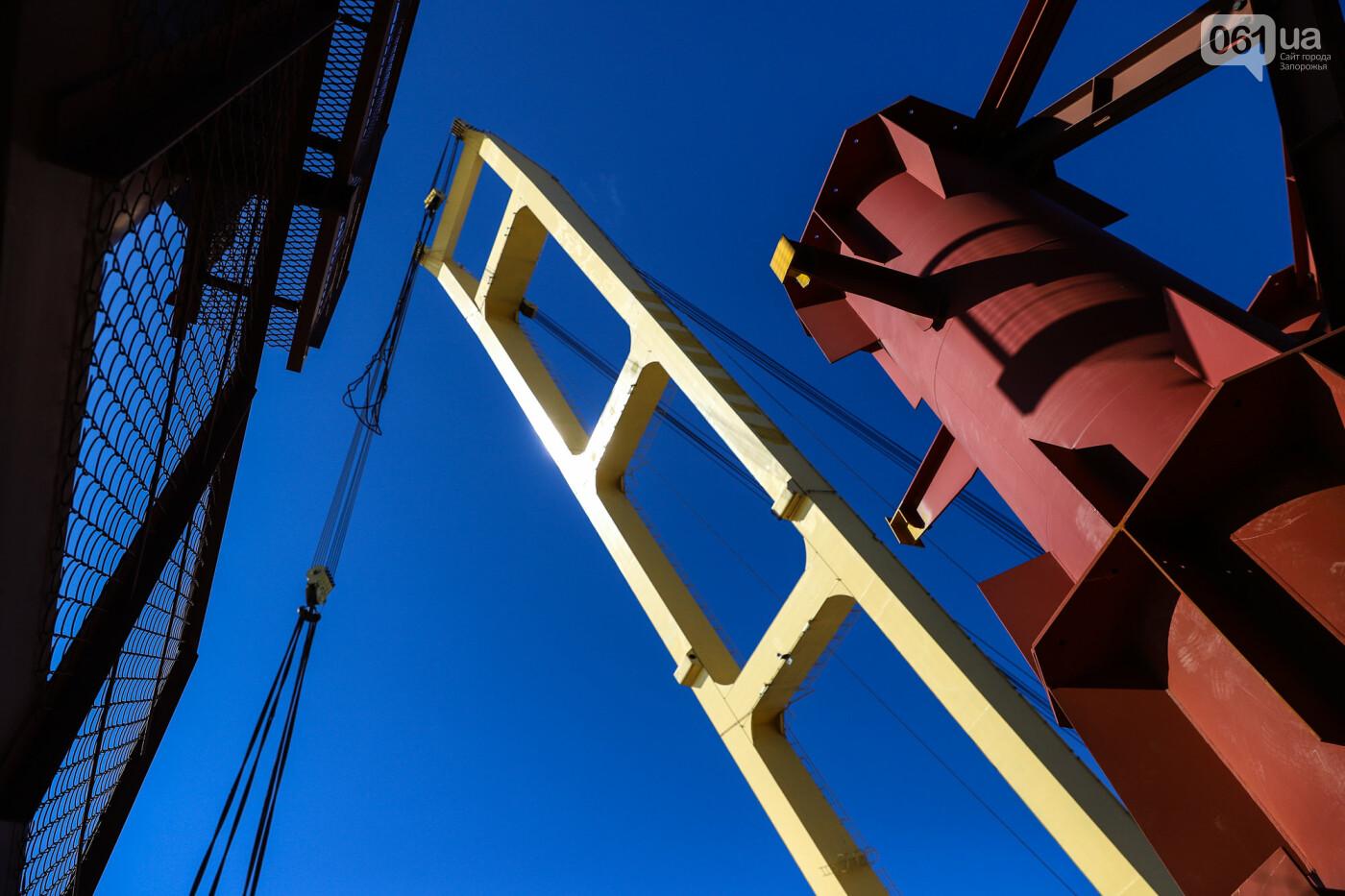 Кран с иностранной пропиской, ванты и металл: строительство запорожских мостов в фотографиях, фото-5