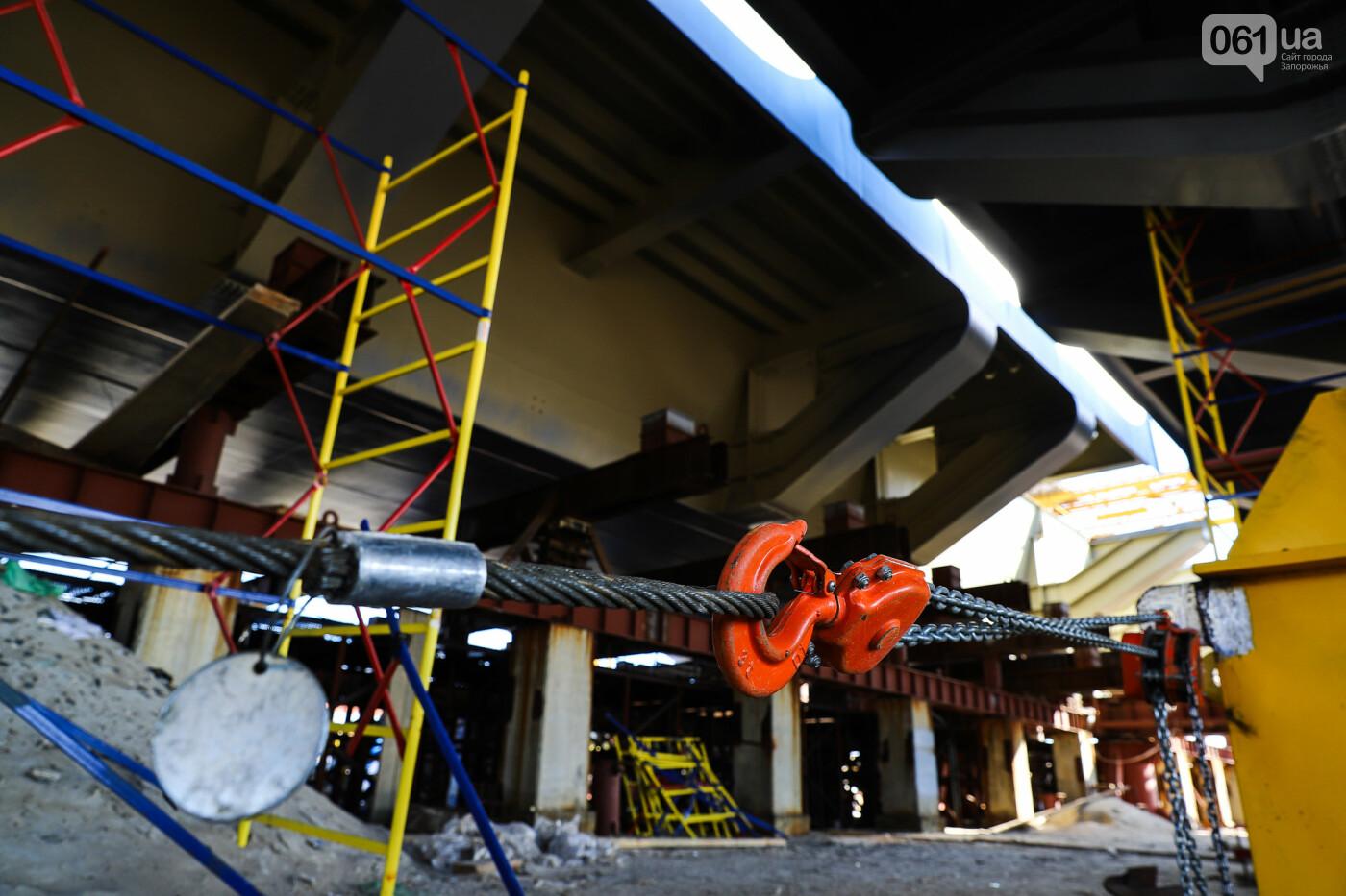 Кран с иностранной пропиской, ванты и металл: строительство запорожских мостов в фотографиях, фото-12