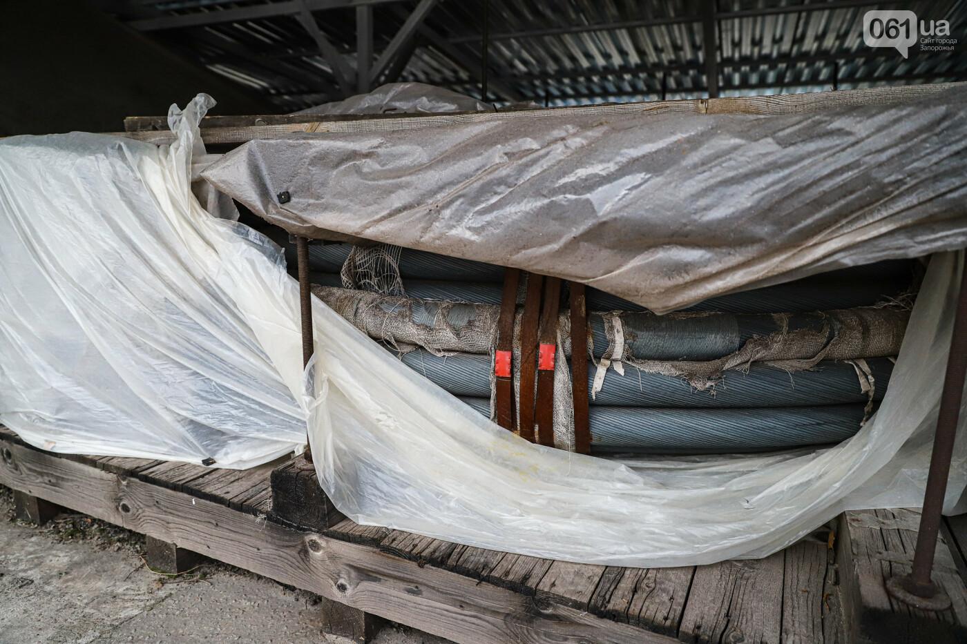 Кран с иностранной пропиской, ванты и металл: строительство запорожских мостов в фотографиях, фото-28