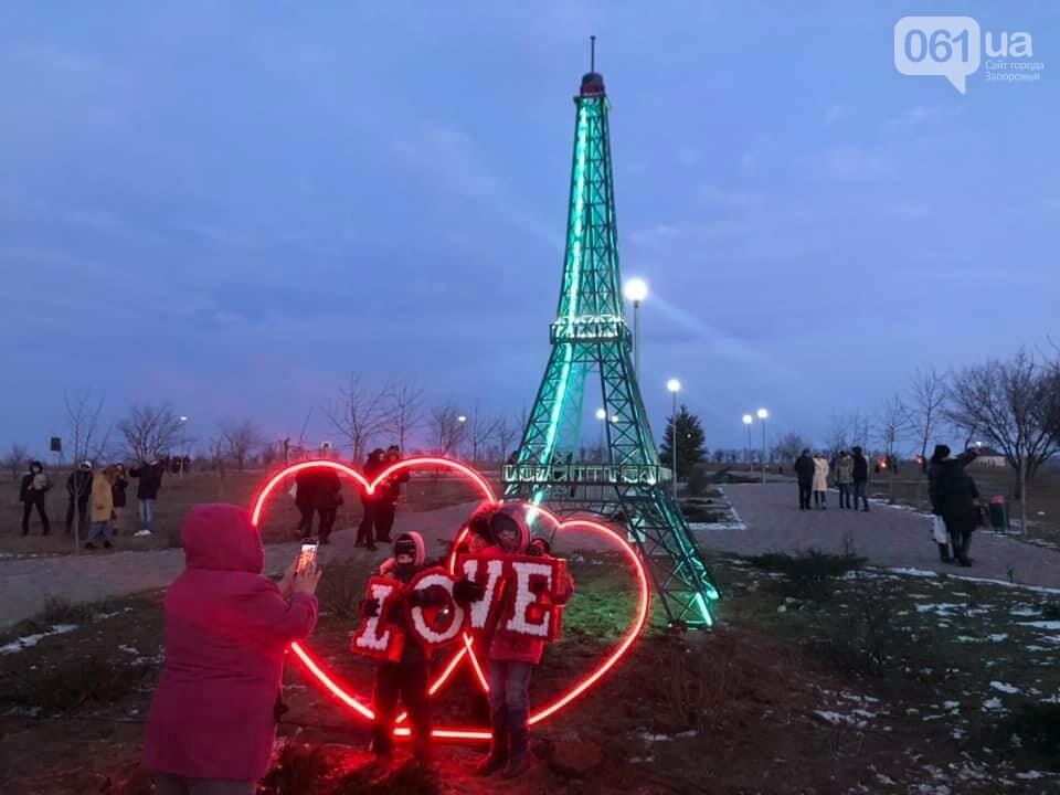 В громаде под Запорожьем установили мини-копию Эйфелевой башни, - ФОТОФАКТ , фото-1
