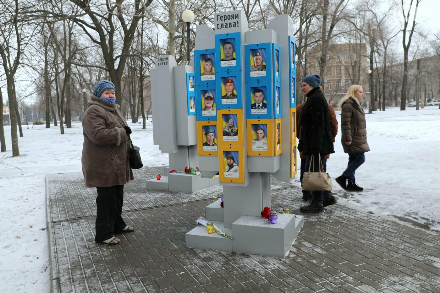 В Запорожье почтили память погибших в боях под Дебальцево, - ФОТО , фото-9