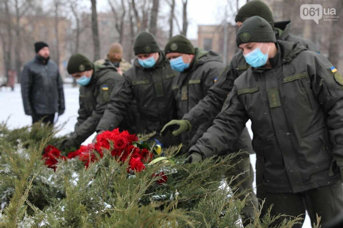 В Запорожье почтили память погибших в боях под Дебальцево, - ФОТО , фото-5
