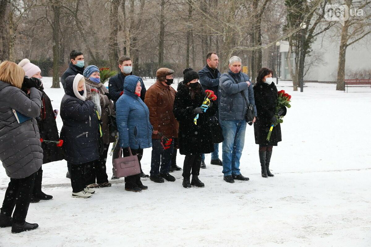 В Запорожье почтили память погибших в боях под Дебальцево, - ФОТО , фото-2