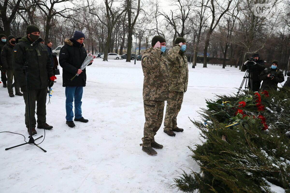 В Запорожье почтили память погибших в боях под Дебальцево, - ФОТО , фото-3