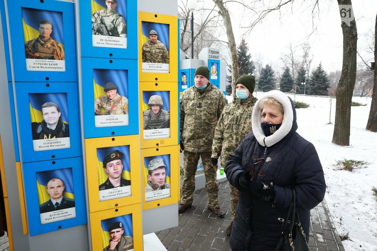 В Запорожье почтили память погибших в боях под Дебальцево, - ФОТО , фото-11