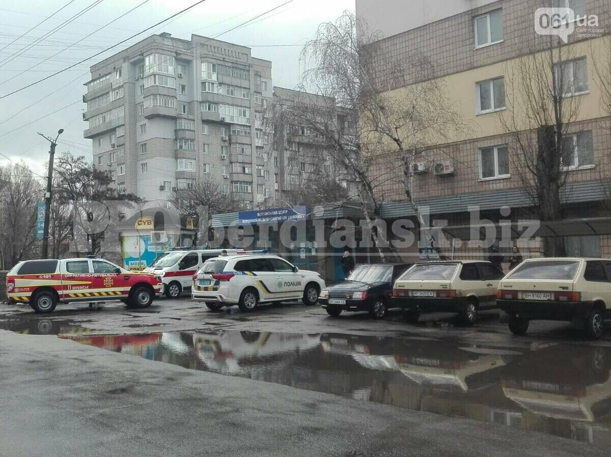 В Запорожской области эвакуировали поликлинику из-за сообщения о взрывоопасном предмете, фото-2