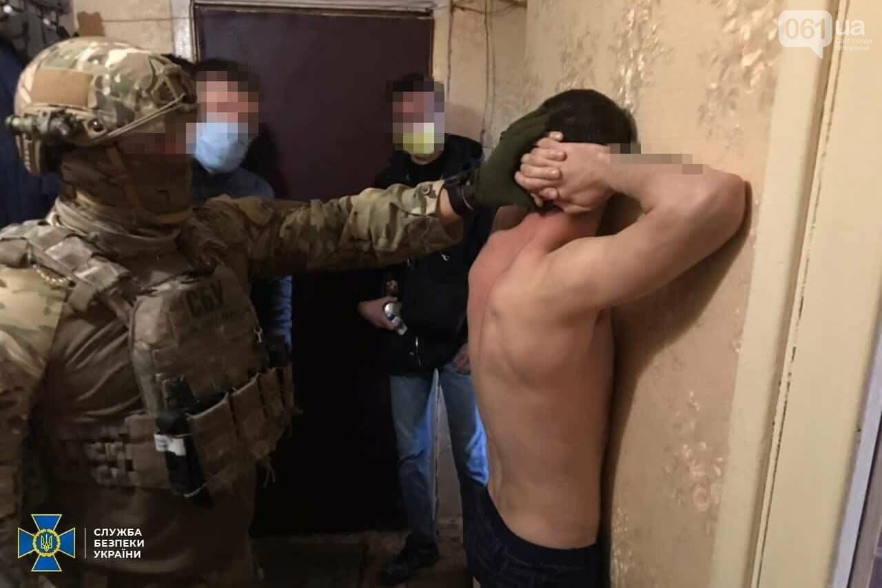 """В Запорожье задержали членов преступной банды, которые получили с пострадавших миллион гривен: """"смотрящий"""" задержан, фото-1"""