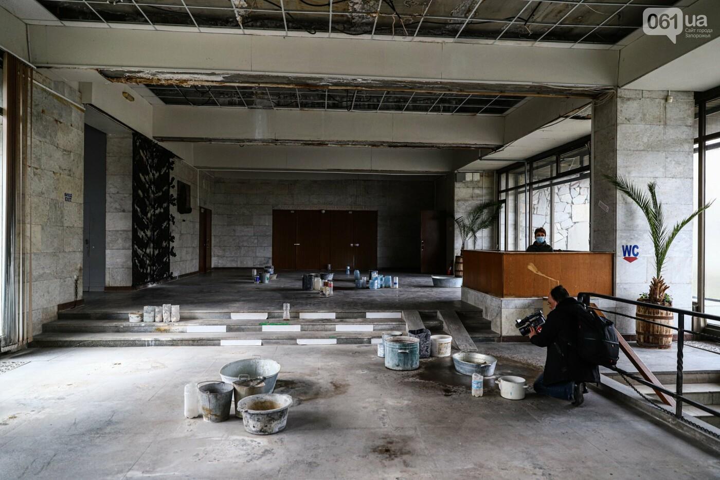 Музей истории запорожского казачества в ожидании реконструкции: как сейчас выглядит аварийное здание, - ФОТОРЕПОРТАЖ, фото-34
