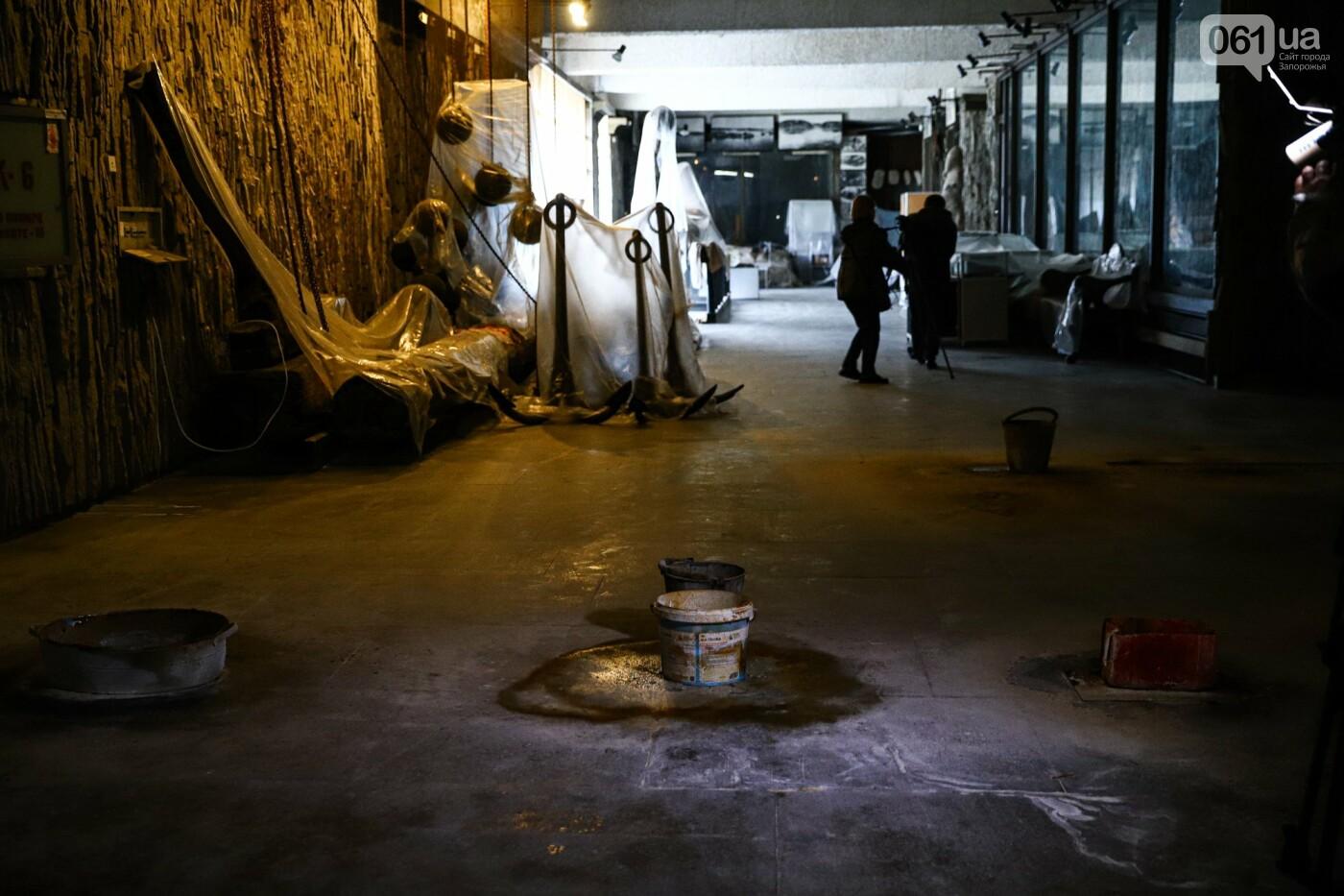 Музей истории запорожского казачества в ожидании реконструкции: как сейчас выглядит аварийное здание, - ФОТОРЕПОРТАЖ, фото-41