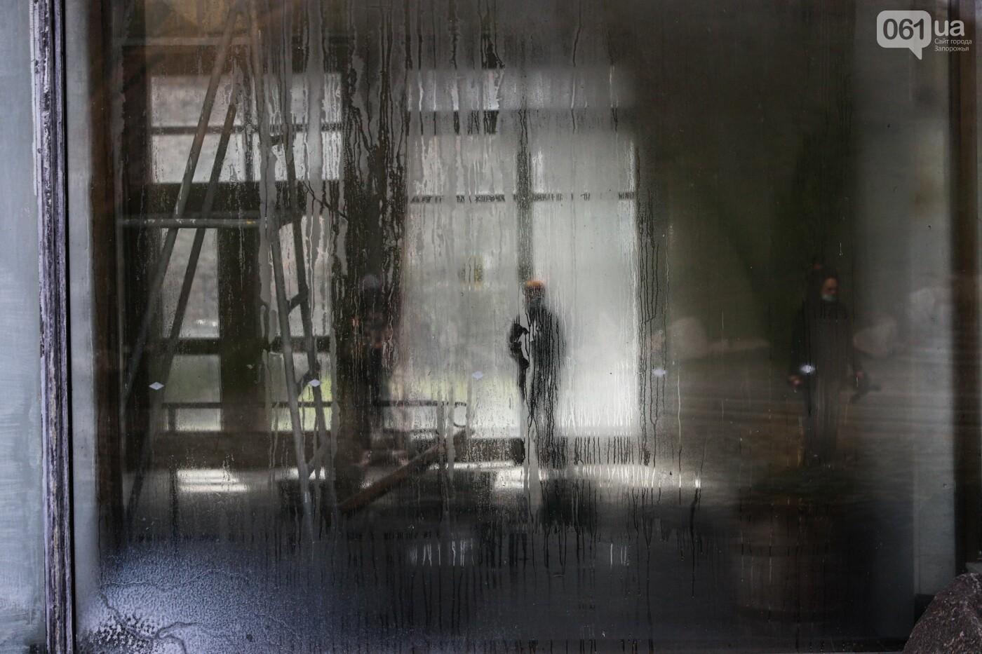 Музей истории запорожского казачества в ожидании реконструкции: как сейчас выглядит аварийное здание, - ФОТОРЕПОРТАЖ, фото-27