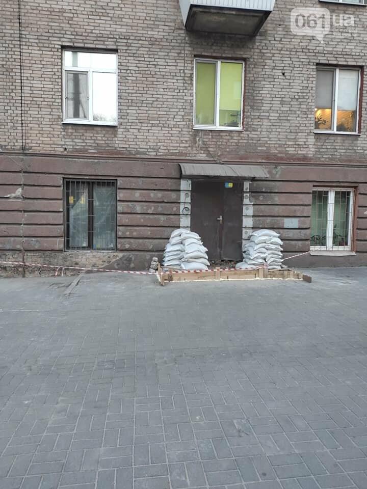 """В Запорожье решили самовольно """"зашить"""" пластиком фасад дома, который входит в ареал Соцгорода, фото-4"""