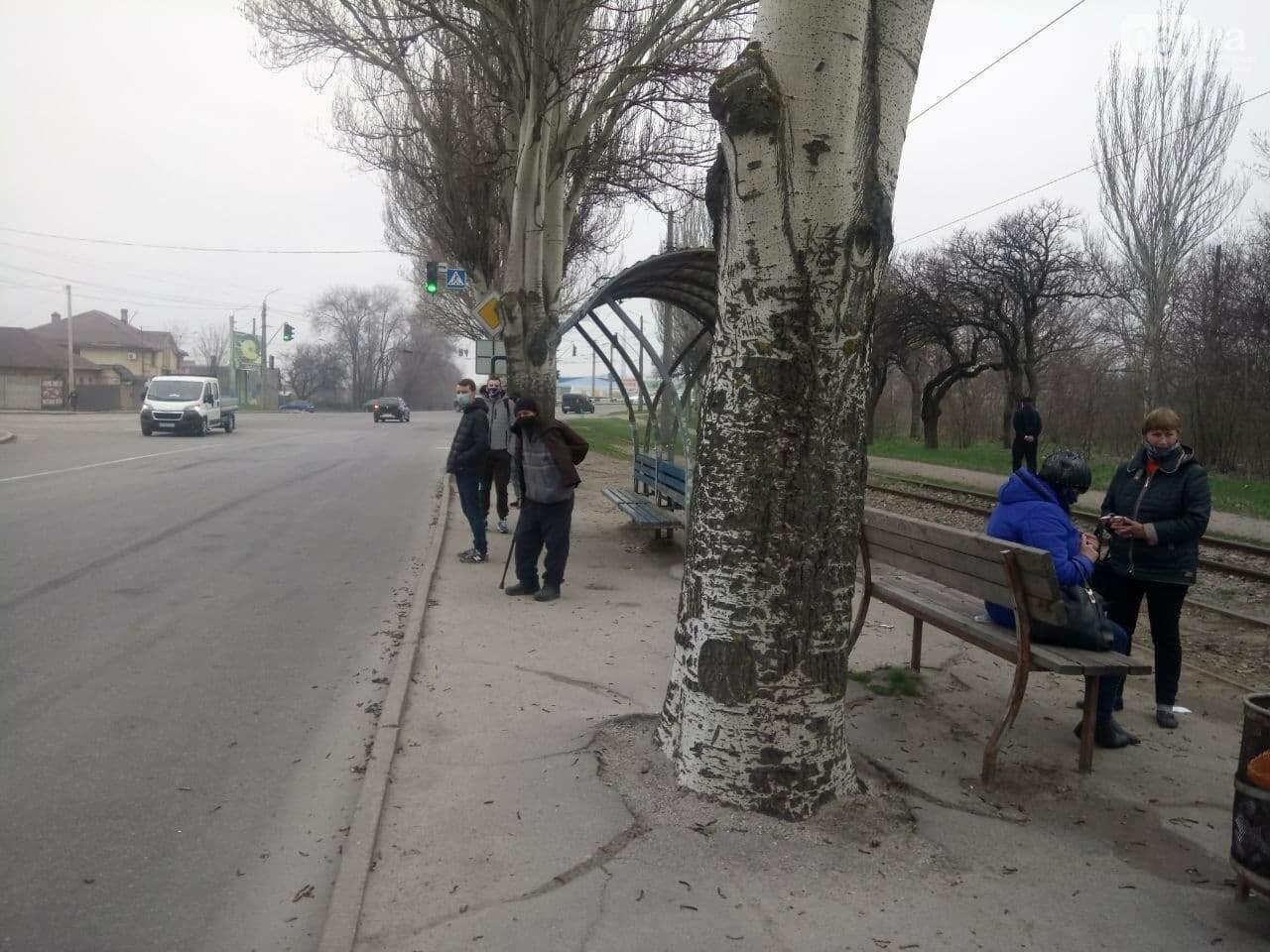Первый день транспортного локдауна в Запорожье: что изменилось, - ФОТО, фото-3