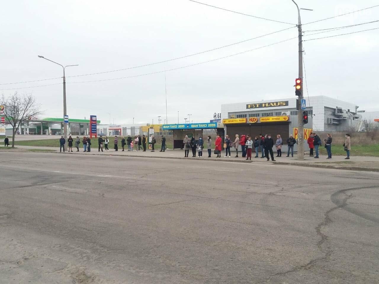 Первый день транспортного локдауна в Запорожье: что изменилось, - ФОТО, фото-1