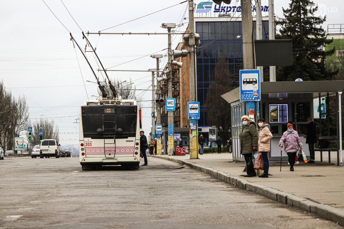 В Запорожье водители маршруток и автобусов игнорируют транспортные ограничения и продолжают возить пассажиров, - ФОТО , фото-14