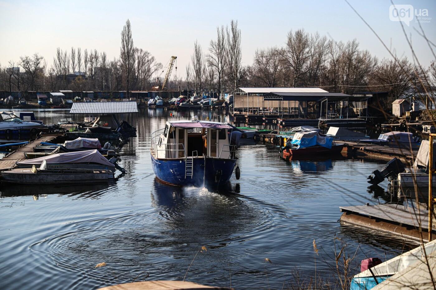 «Семь футов под килем!»: как в запорожском яхт-клубе спускали судна на воду, - ФОТОРЕПОРТАЖ , фото-5