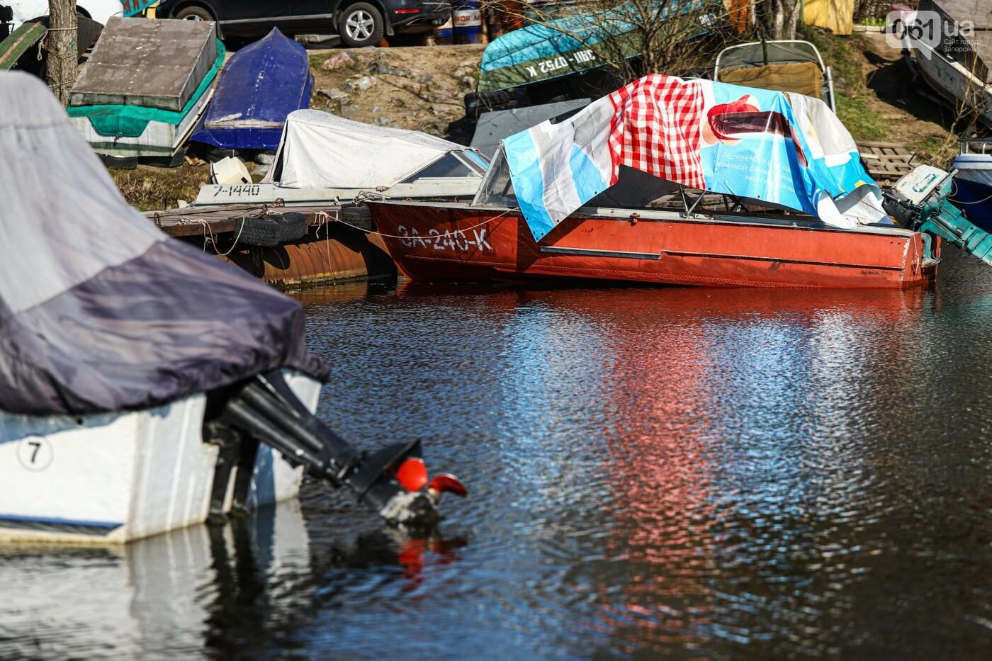 «Семь футов под килем!»: как в запорожском яхт-клубе спускали судна на воду, - ФОТОРЕПОРТАЖ , фото-29