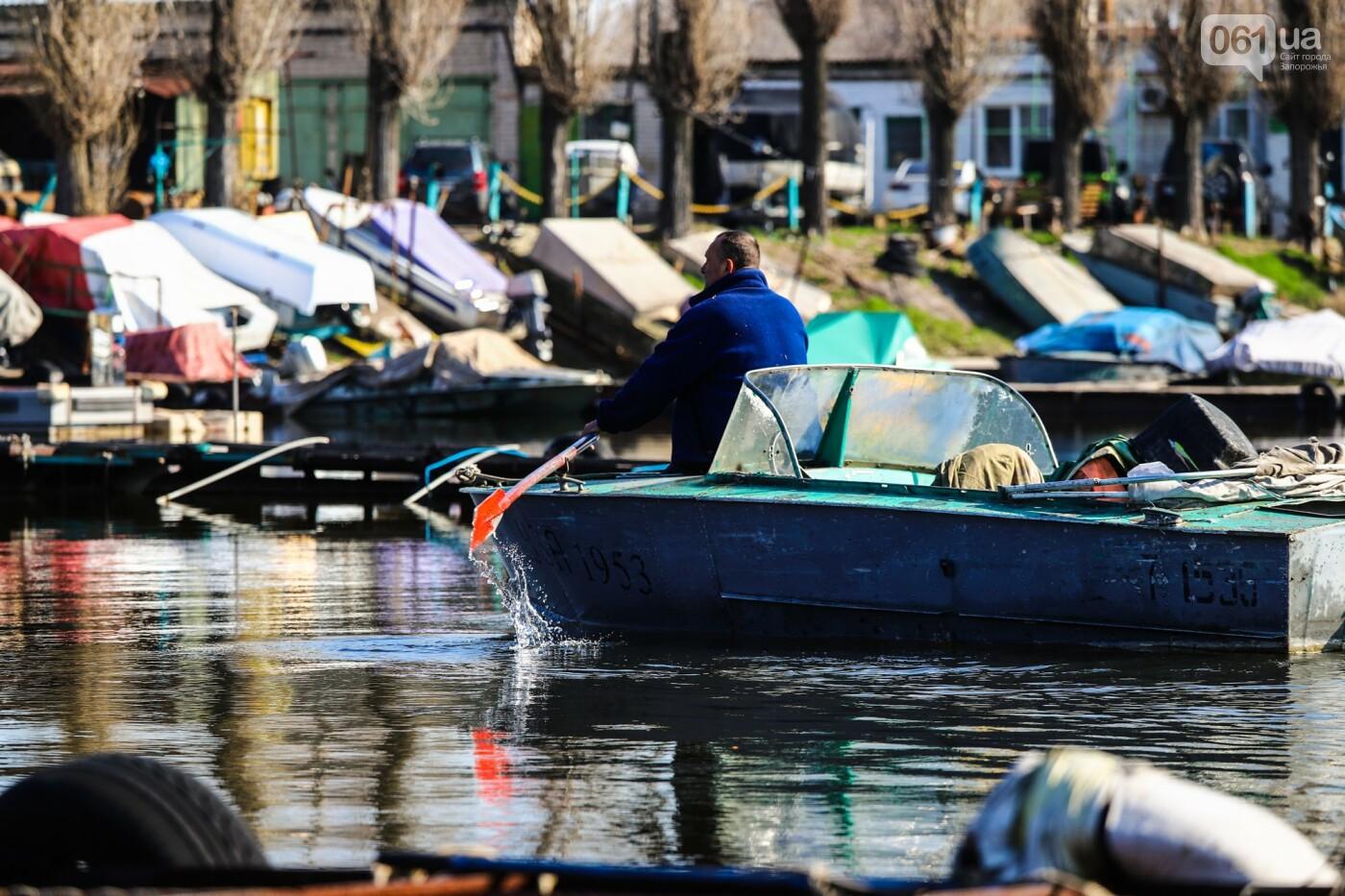 «Семь футов под килем!»: как в запорожском яхт-клубе спускали судна на воду, - ФОТОРЕПОРТАЖ , фото-31