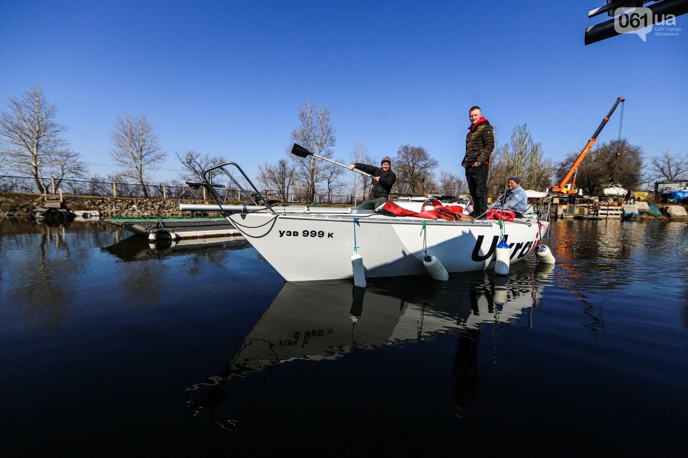 «Семь футов под килем!»: как в запорожском яхт-клубе спускали судна на воду, - ФОТОРЕПОРТАЖ , фото-34