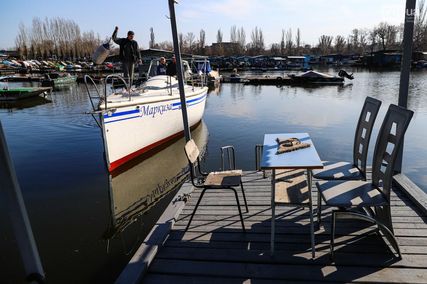 «Семь футов под килем!»: как в запорожском яхт-клубе спускали судна на воду, - ФОТОРЕПОРТАЖ , фото-35