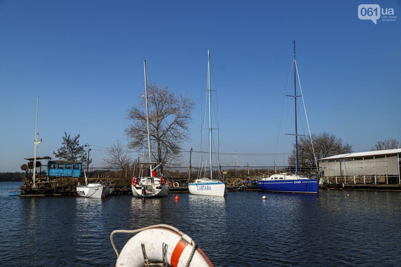 «Семь футов под килем!»: как в запорожском яхт-клубе спускали судна на воду, - ФОТОРЕПОРТАЖ , фото-41