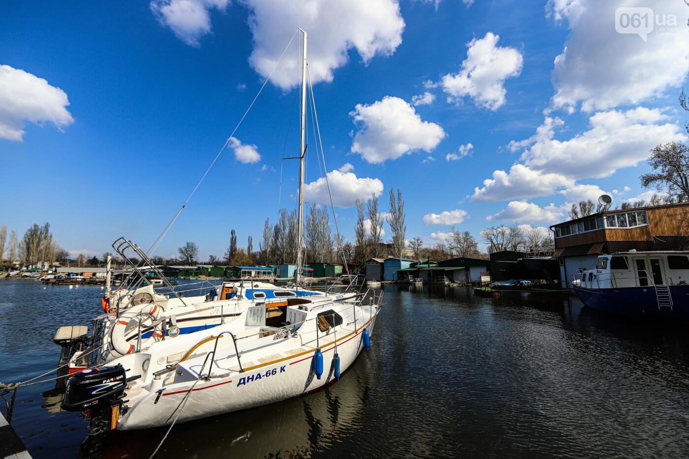 «Семь футов под килем!»: как в запорожском яхт-клубе спускали судна на воду, - ФОТОРЕПОРТАЖ , фото-42