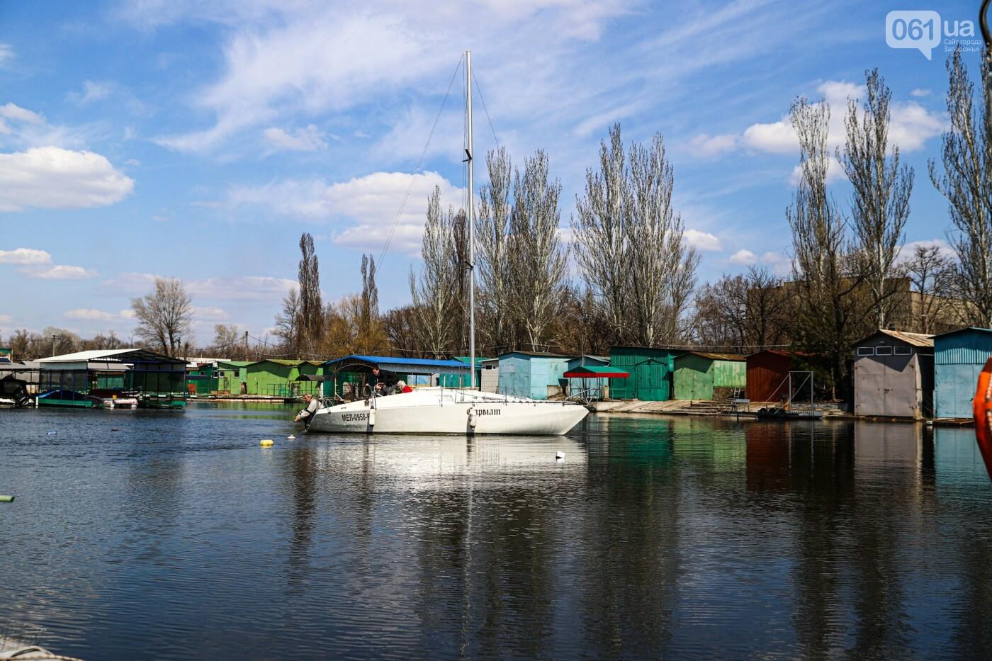 «Семь футов под килем!»: как в запорожском яхт-клубе спускали судна на воду, - ФОТОРЕПОРТАЖ , фото-59