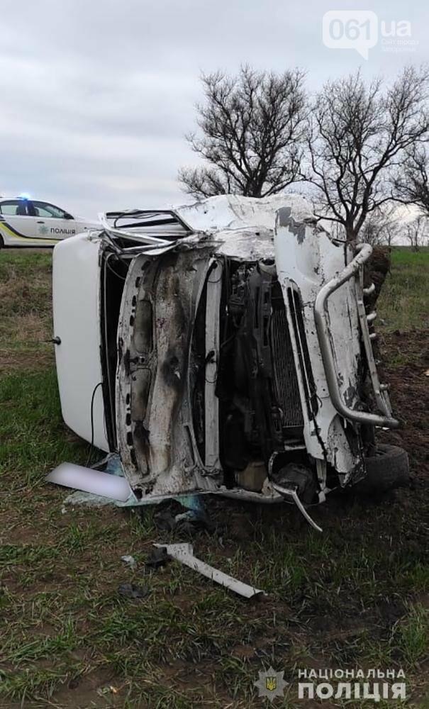 Заснул за рулем: в полиции сообщили подробности ДТП с маршруткой под Бердянском, фото-3