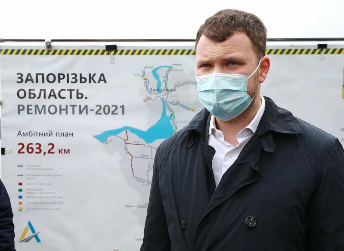 Министр инфраструктуры по дороге в Мариуполь заехал в Запорожье - посмотрел, как строят мосты, - ФОТО , фото-2