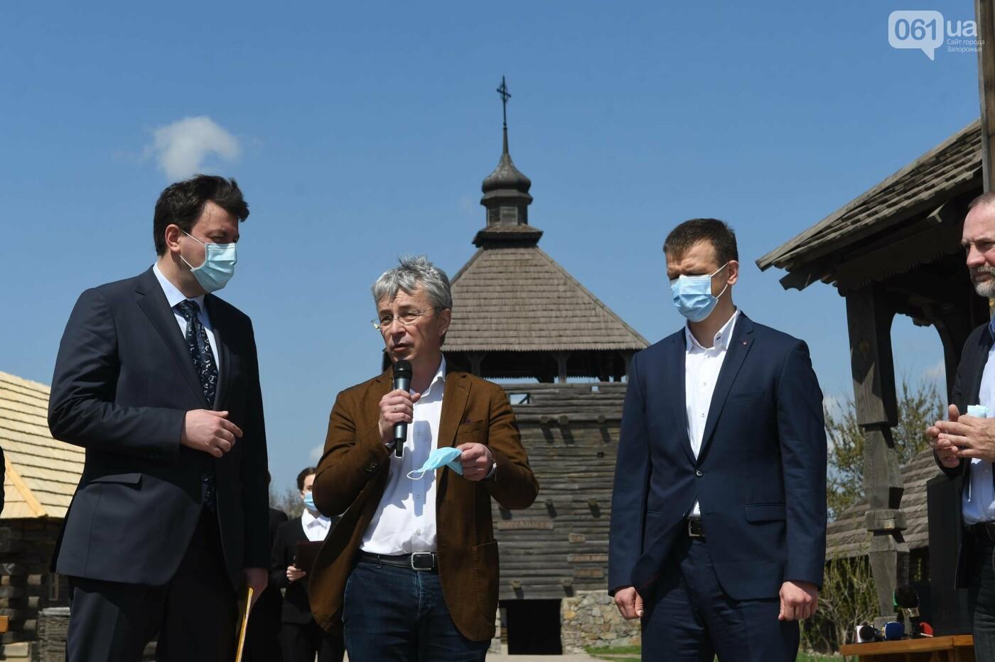 Министр культуры назвал сроки реконструкции кургана на Хортице - как будет выглядеть объект, - ФОТО, фото-4