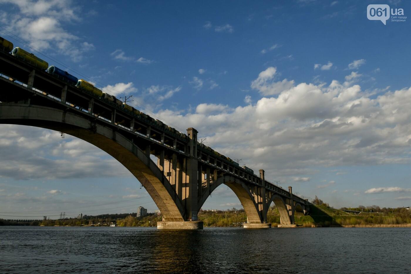 В Запорожье монтируют первый блок вантового моста, - ФОТОРЕПОРТАЖ, фото-22