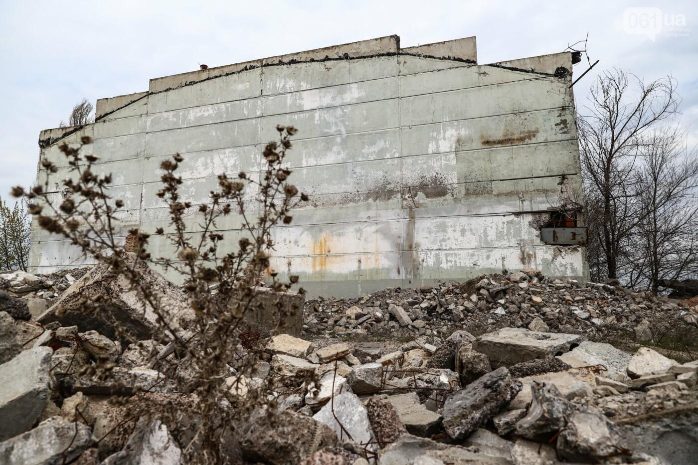 В Степногорске пытаются разобрать на металлолом шахту - промплощадка ГОКа превратилась в руины, - ФОТОРЕПОРТАЖ , фото-20