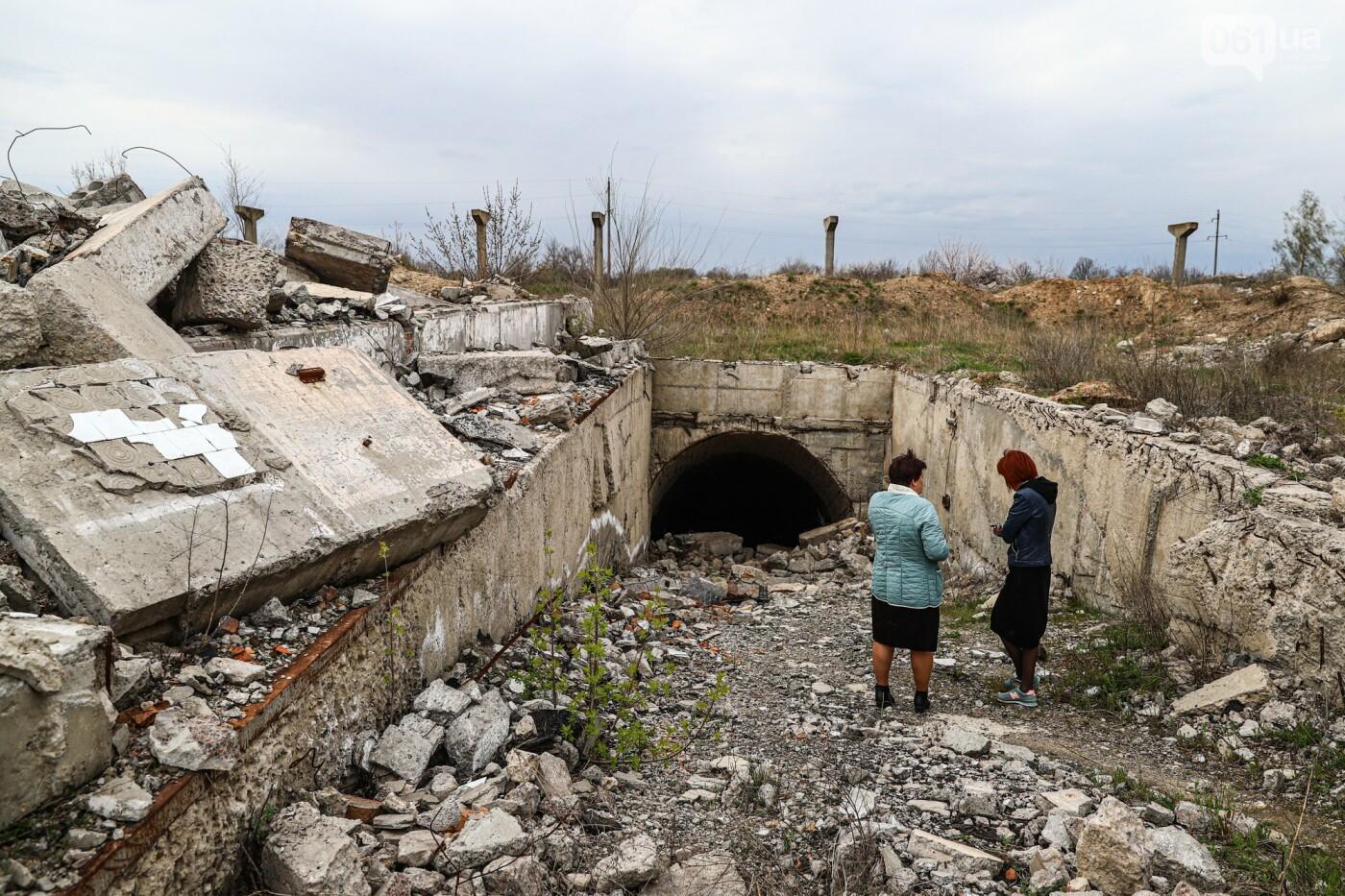 В Степногорске пытаются разобрать на металлолом шахту - промплощадка ГОКа превратилась в руины, - ФОТОРЕПОРТАЖ , фото-1