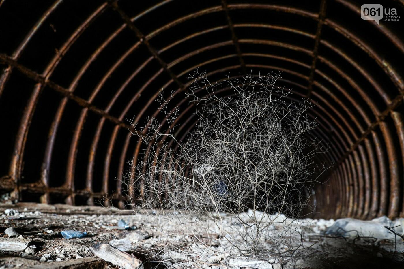 В Степногорске пытаются разобрать на металлолом шахту - промплощадка ГОКа превратилась в руины, - ФОТОРЕПОРТАЖ , фото-6