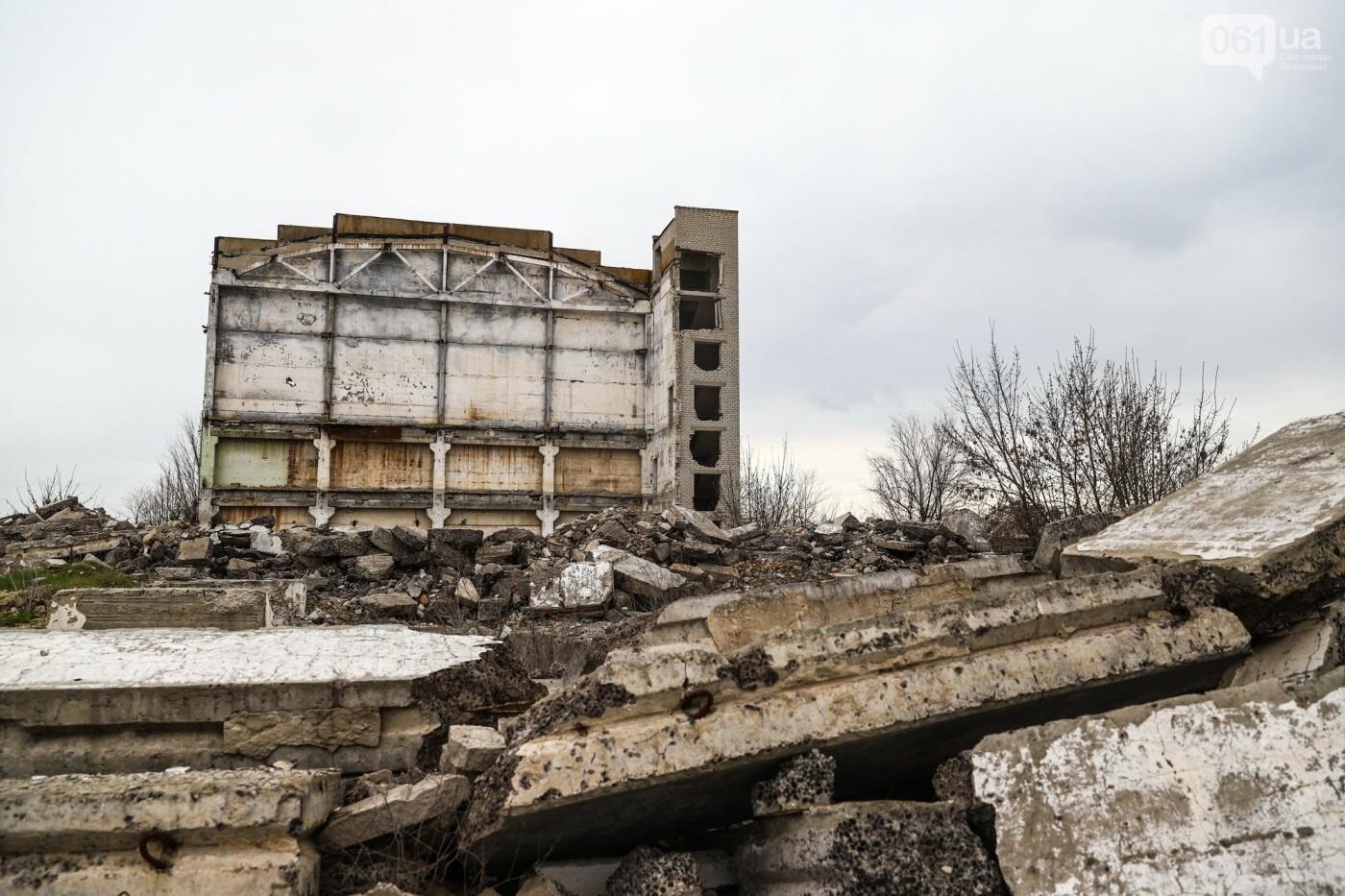 В Степногорске пытаются разобрать на металлолом шахту - промплощадка ГОКа превратилась в руины, - ФОТОРЕПОРТАЖ , фото-28