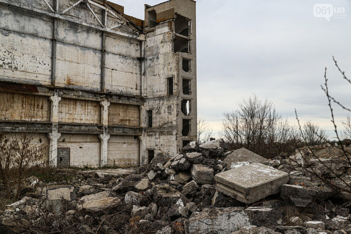 В Степногорске пытаются разобрать на металлолом шахту - промплощадка ГОКа превратилась в руины, - ФОТОРЕПОРТАЖ , фото-30