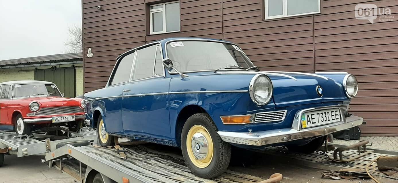 """В музее """"Фаэтон"""" появились два немецких авто, которые использовали при испытании ЗАЗ-966, фото-2"""