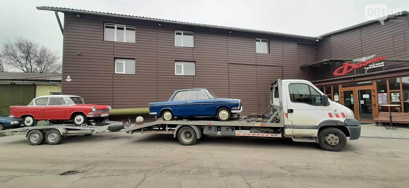 """В музее """"Фаэтон"""" появились два немецких авто, которые использовали при испытании ЗАЗ-966, фото-1"""