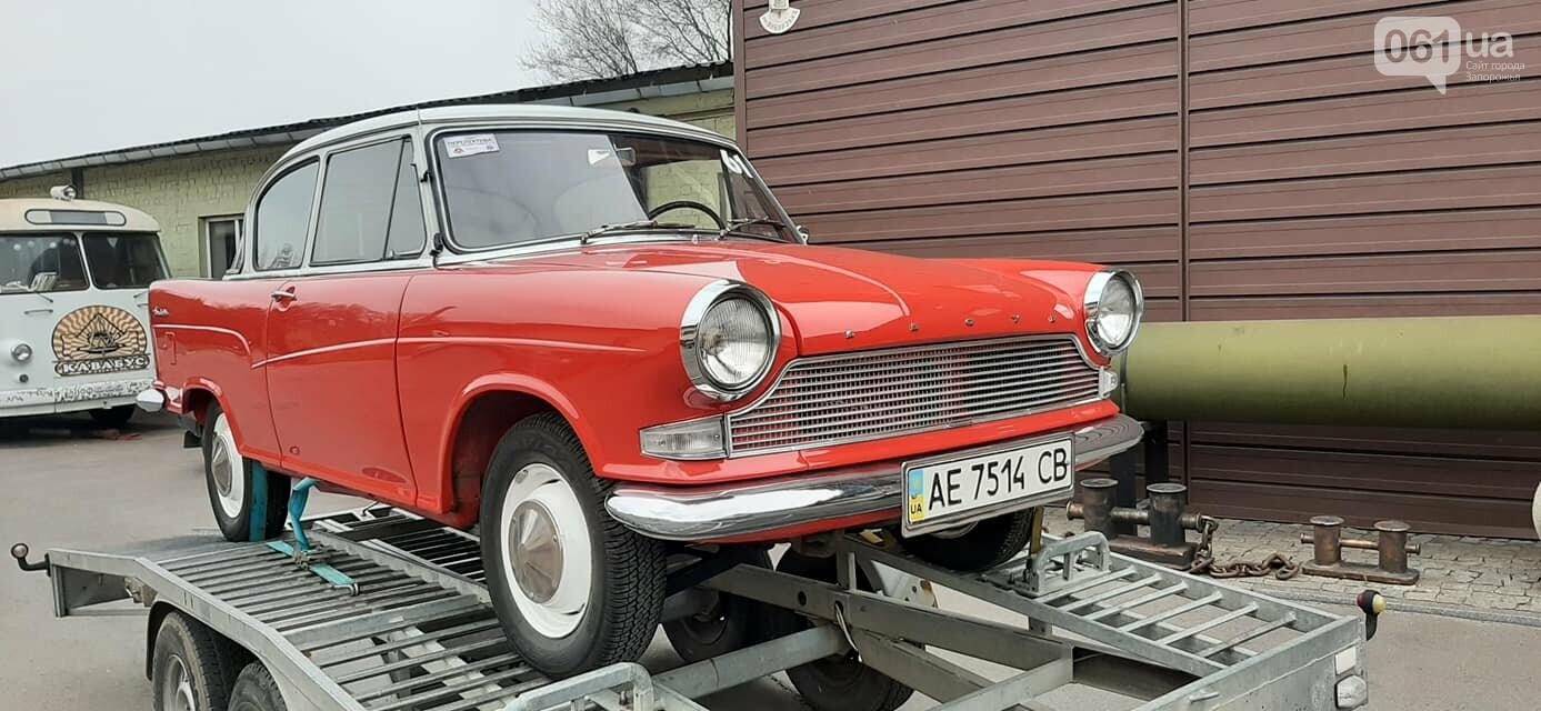 """В музее """"Фаэтон"""" появились два немецких авто, которые использовали при испытании ЗАЗ-966, фото-3"""