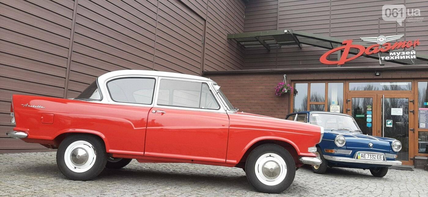 """В музее """"Фаэтон"""" появились два немецких авто, которые использовали при испытании ЗАЗ-966, фото-4"""