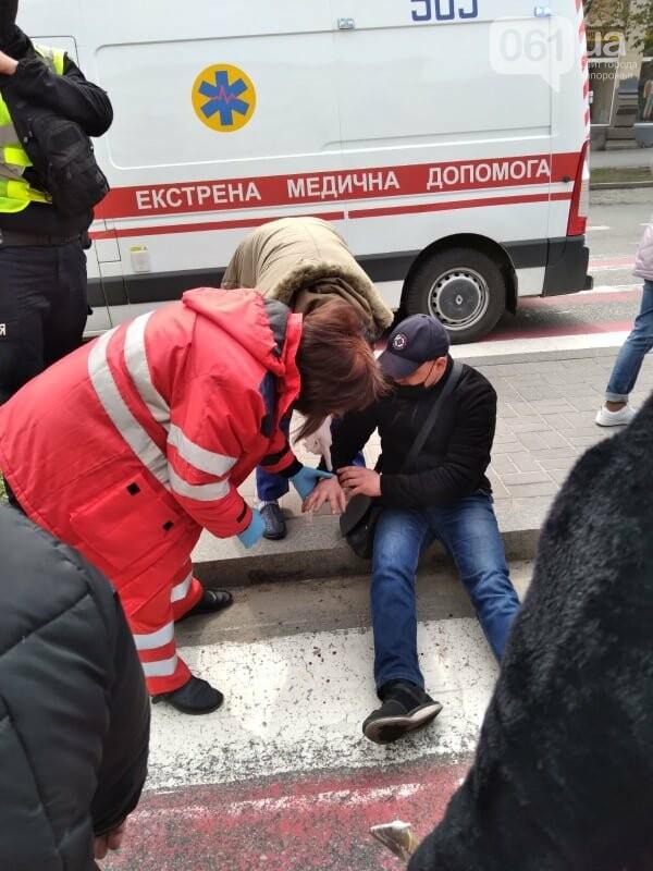 В Запорожье рыночники пикетировали мэрию и перекрыли проспект, - ФОТОРЕПОРТАЖ , фото-14