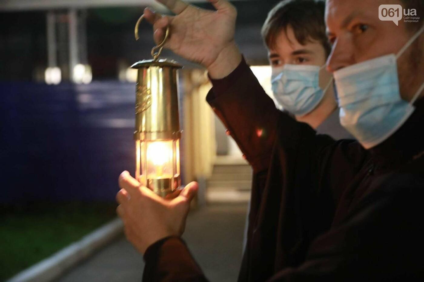 В Запорожье доставили Благодатный огонь из Иерусалима , фото-4