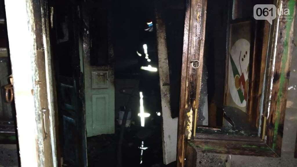 В Запорожской области мужчина травмировался во время пожара в жилом доме, фото-3