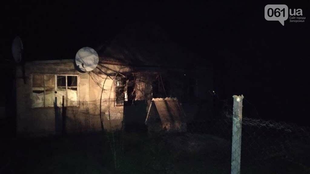 В Запорожской области мужчина травмировался во время пожара в жилом доме, фото-4