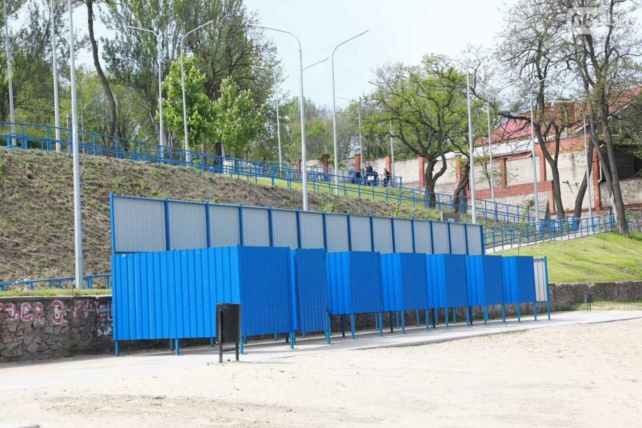 4 года и 25 миллионов гривен: в Запорожье завершается многострадальная реконструкция пляжа на Кичкасе, фото-6